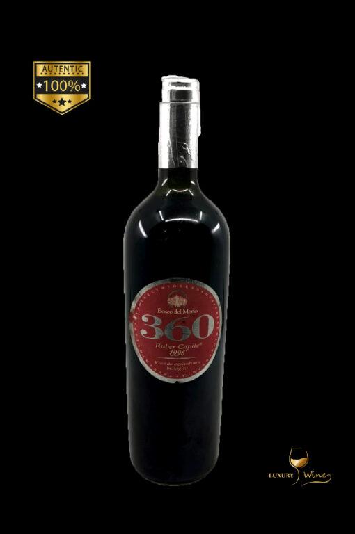 360 ruber capite vin de colectie 1996